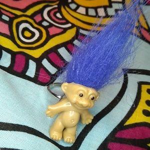 Blue Troll Ring